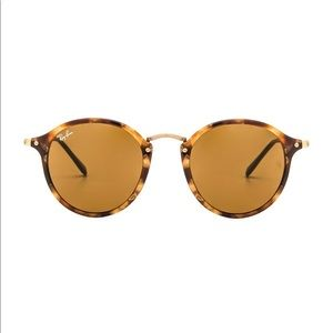 Ray ban round sunglasses in fleck